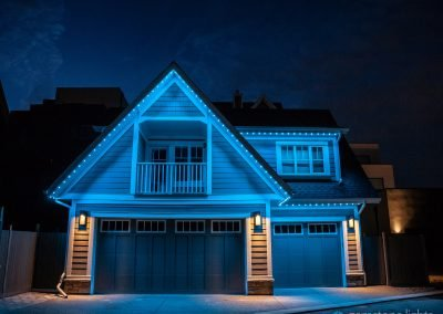 All blue outdoor LED Lighting by Gemstone