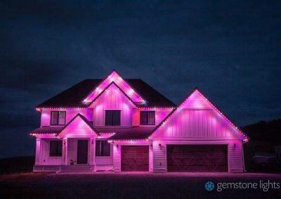 Variable LED Lighting by Gemstone